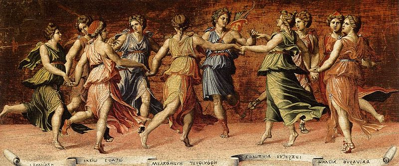 Apollo & the Muses in the Ring Dance